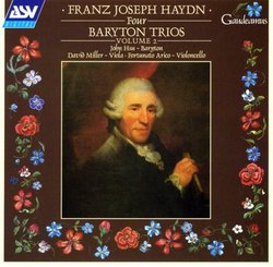 Franz Joseph Haydn: Four Baryton Trios, Volume 2