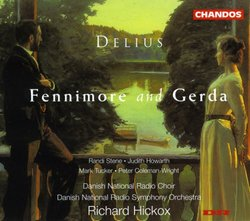 Delius - Fennimore and Gerda / Stene · Howarth · Tucker · Coleman-Wright · Hickox