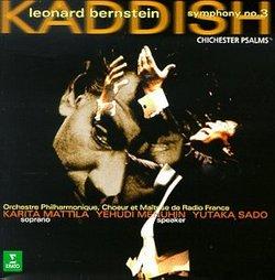 Bernstein - Kaddish · Chichester Psalms / Mattila · Menuhin · Radio France · Yutaka Sado