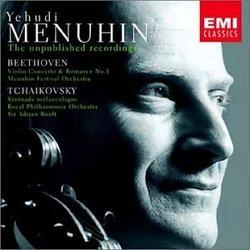 Yehudi Menuhin: The Unpublished Recordings