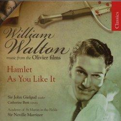 Walton: Hamlet; As You Like It