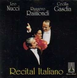Recital Italiano ~ Hommage à Francesco Paolo Tosti / Gasdia, Raimondi, Nucci