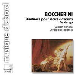 Boccherini: Quatuors pour deux clavecins; Fandango