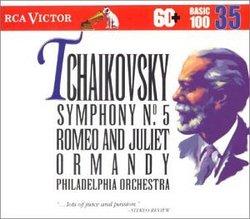 RCA Victor Basic 100, Vol. 35- Tchaikovsky: Symphony No.5, Romeo and Juliet Overture