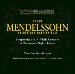 Mendelssohn: Orchestral Masterpieces