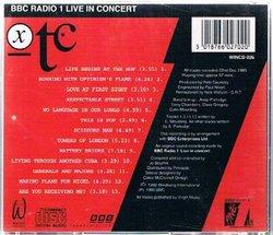 XTC: Live in Concert