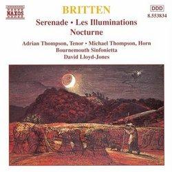 Britten: Serenade; Les Illuminations; Nocturne