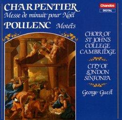 Charpentier: Messe de minuit pour Noël / Poulenc: Motets