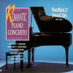 The Romantic Piano Concerto, Volume 1