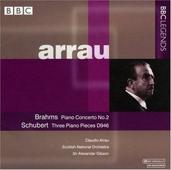 Brahms: Piano Concerto No. 2; Schubert: Three Piano Pieces, D946