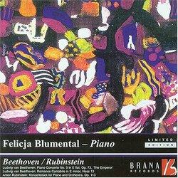 Beethoven; Rubinstein