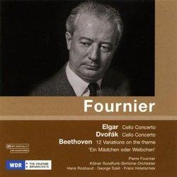 Elgar: Cello Concerto; Dvorák: Cello Concerto; Beethoven: 12 Variations on the theme 'Ein Mädchen oder Weibchen'