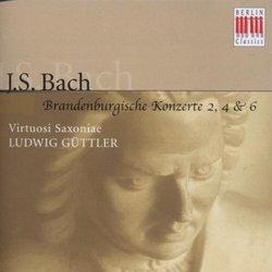 Bach: Brandenburgische Konzerte 4, 6, 2