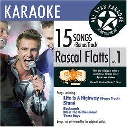ASK-1550 Country Karaoke; Rascal Flatts Greatest Hits Vol. 1