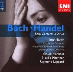 Bach/Handel: Solo Cantatas & Arias