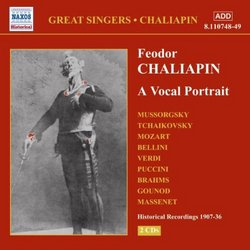 Chaliapin: A Vocal Portrait