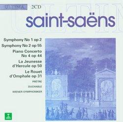 Saint-Saens - Symphony 1 / Symphony 2 / Piano Concerto 4 / La jeunesse d'Hercule / Le Rouet d'Omphale