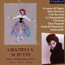 Graziella Sciutti: The Studio Recitals, 1953, 1955, 1956