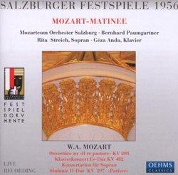Mozart Matinee; Salzburg Festival 1956