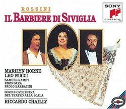 Rossini - Il Barbiere di Siviglia / Horne, Nucci, Ramey, Dara, Barbacini, Chailly