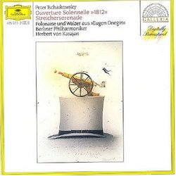 """Tchaikowsky: """"1812"""" Overture, Serenade for Strings, Polonaise and Waltz from """"Eugene Onegin"""""""