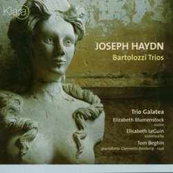 Joseph Haydn: Bartolozzi Trios