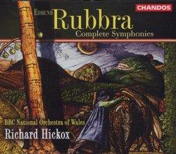 Edward Rubbra - Complete Symphonies / Hickox