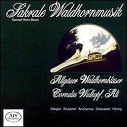 Sacred Horn Music (Sakrale Waldhornmusik) - Karl Stiegler: St. Hubertus-Messe / Bruckner: Antiphon; Windhaager Messe, Mass in C Major (1842) / Markus Höring: Partita sacro-profana (1988)
