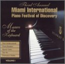 Miami International Piano Festival of Discovery, 2000, Vol. 1
