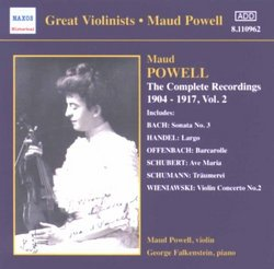 The Complete Recordings of Maud Powell, Vol. 2