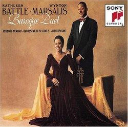 Kathleen Battle · Wynton Marsalis ~ Baroque Duet / Anthony Newman · Orch St. Luke's · Nelson