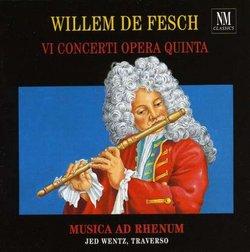 Willem de Fesch: VI Concerti Opera Quinta
