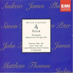 """Elgar: The Apostles / Meditation from """"The Light of Life"""""""