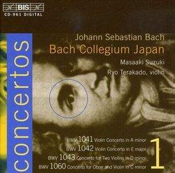 Bach: Violin Concertos, Vol. 1