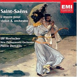 Saint-Saëns: L'oeuvre pour violon & orchestre [works for violin & orchestra]