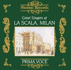 Great Singers At La Scala, Milan