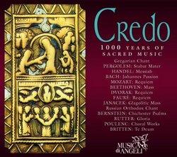 Credo: 1000 Years of Sacred Music (Box Set)