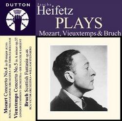 Jascha Heifetz Plays Violin Concertos