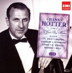 Icon: Hans Hotter, the Great Bass-Baritone [Box Set]