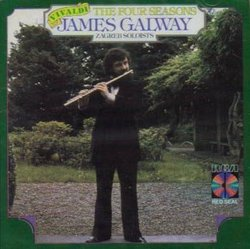 James Galway & Zagreb Soloists: Vivaldi Four Seasons (RCA Red Seal)