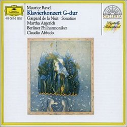 Ravel: Klavierkonzert G-dur; Gaspard De La Nuit; Sonatine [Germany]