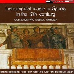 17th Century Genoan Instrumental Music
