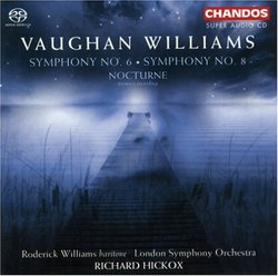 Vaughan Williams: Symphonies Nos. 6 & 8; Nocturne [Hybrid SACD]