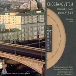 Chostakovitch Concertos pour pian No. 1 & 2