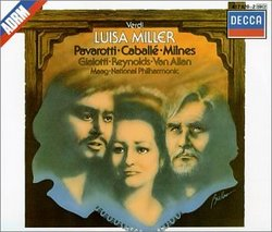 Verdi - Luisa Miller / Pavarotti · Caballé · Milnes · Giaiotti · Reynolds · van Allan · NP · Maag