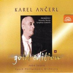 Ancerl Gold Edition 36: PROKOFIEV Alexander Nevsky; Symphony-Concerto for Cello