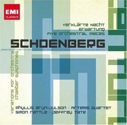 Schoenberg: Verklärte Nacht; Erwartung; Five Orchestral Pieces