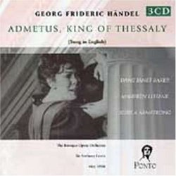 Handel - Admetus, King of Thessaly (Admeto) [Sung in English]