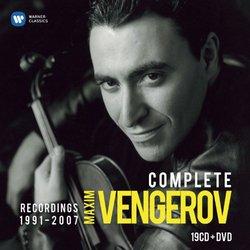 Maxim Vengerov: Complete Recordings 1991-2007