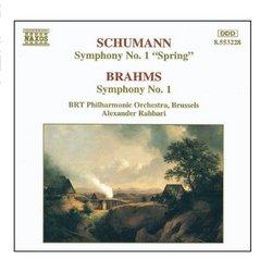 Schumann, R.: Symphony No. 1 / Brahms: Symphony No. 1
